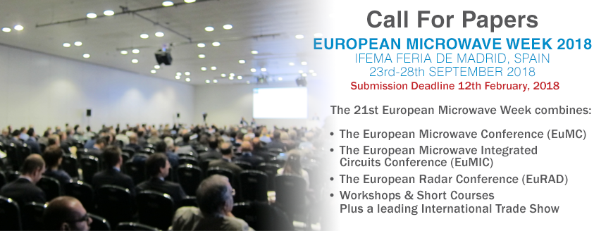 EuMW 2018 CALL FOR PAPERS