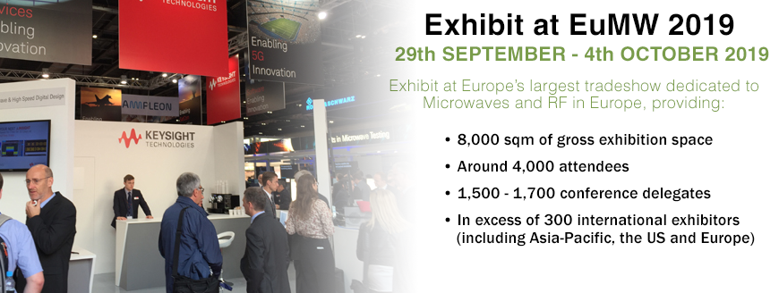 EXHIBIT AT EuMW 2019