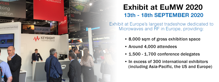 EXHIBIT AT EuMW 2020